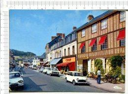 RY -  La Grande Rue -  Véhicules Anciens -  Moto - Mobylette - France