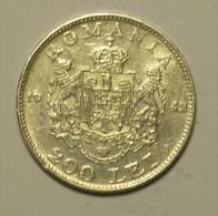 Roumanie Romania Rumänien 200 Lei 1942 Silver / Argent # 3 - Rumania