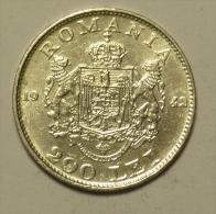 Roumanie Romania Rumänien 200 Lei 1942 Silver / Argent # 1 - Roumanie