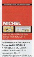 Special ATM Michel Katalog 2013/2014 New 64€ All World : AT AU B D DK F UK NL P CH RO NO Brazil SF Eire C IS LUX E TK GR - France