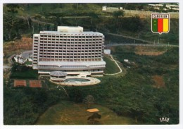 CAMEROUN/CAMEROON - YAOUNDE HOTEL DU MONT FEBE' / THEMATIC STAMP-FOOTBALL - Camerun