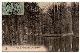 CP, 75, Bois De VINCENNES, Lac Daumesnil, Rivières D'Alimentation, écrite, Voyagé En 1905 - Non Classés