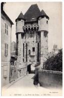CP, 58, NEVERS,  Porte Du Croux Et Son Avant Porte, Vierge, - Nevers