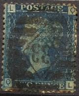Grande-Bretagne N° 27, Planche N°13  (F11) - Usati