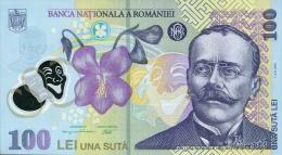ROMANIA P. 121d 100 L 2008 UNC - Romania