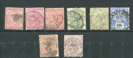 Natal Greait Britain 1874-1891 Accumulation Used - Afrique Du Sud (...-1961)