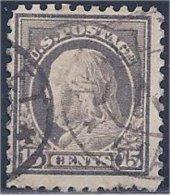 USA / États-Unis  1916  #  475   ( Franklin ) - Vereinigte Staaten