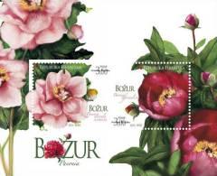 CROATIA - Souvenir Sheet - Peony Flower - 2010 - Croatie