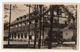 Real Photo Netherland Hotel Restaurant Jagershorst Leende  VW Beetle Carte Postale Original Postcard Cpa Ak (W3_2856) - Hotel's & Restaurants