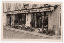 Real Photo Le Londres Versailles  Restaurant  Cafe Carte Postale Original Postcard Cpa Ak (W3_2857) - Hotel's & Restaurants