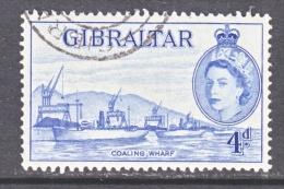 Gibraltar 138  (o)  WHARF - Gibraltar