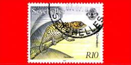 SEYCHELLES - USATO - 1994 - Camaleonte - 10 - Seychelles (1976-...)