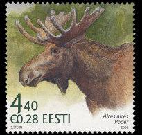 4.- 003 ESTONIA 2006. ESTONIAN FAUNA. ELK - Animalez De Caza