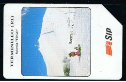 07 - ITALIA - 0P109  OMAGGIO PRIVATA TESSERA TELEFONICA NO. 109  USATA - Italia