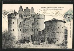 CPA Argenton-Chateau, Le Chateau De L'Ebaupinaye Vom Weg Aus - Argenton Chateau