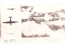AK FLUGZEUGE   FOTOGRAFIE OLD POSTCARD   Mit Einem Brief An Den Japanischen Oder Chinesischen   ????????? - 1939-1945: 2ème Guerre