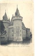 CHATEAU DE SULLY SUR LOIRE--LES TOURS RESTAUREES--DOS NON DIV--UNE TRACE DE PLI EN-TRAVERS-- - Sully Sur Loire