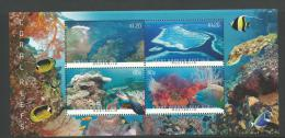 2013 Coral Reefs Mini Sheet  Complete Mint Never Hinged As Purchased From The Post Office Value Buying. - Blocks & Sheetlets