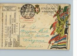 REGIO ESERCITO ITALIANO - CORRISPONDENZA IN FRANCHIGIA - SPEDITO DA GOVERNO DALMAZIA A SARZANA - Militari