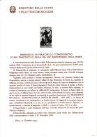 ITALIA  1957 - Bollettino Ufficiale P.TT  (italiano-francese)  - S.Francesco Di Paola - Religione - Paquetes De Presentación
