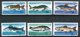 Bulgarien - Mi .Nr.    3158 - 3163    -  Gestempelt - Gebraucht