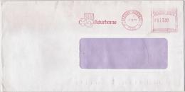 EMA Freistempel : Futurhome, Trèfle à 4 Feuilles, Four-leaf Clover, Vierblättrige Kleeblatt, Soleil, Sun, Zon 1989 - Other