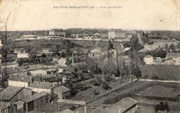 Cp , 51 , SAINTE MENEHOULD , Vue Générale , écrite 1915 - Sainte-Menehould