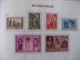 "België 1939 ** MNH Cob 513/518   "" 3de Orval  ""  Cat: 88,00 Euro - Bélgica"