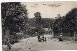 CPA  -   VEULES - LES - ROSES  (76)   Arrivée Par La Route De Saint - Valéry - Veules Les Roses