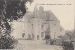 Cpa 22 Cotes D Armor Saint Maudez  Chateau De Thaumatz - France