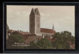 Germany - Wismar Blick Auf Marienkirche -27__(3418) - Wismar