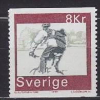 1999 SUÈDE Sweden  ** MNH Vélo Cycliste Cyclisme Bicycle Cyclist Cycling Fahrrad Radfahrer Radfahren Bicicleta Ci [BM50] - Cycling