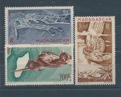 MADAGASCAR P.a  N° 62:64 * T.B. - Madagascar (1889-1960)