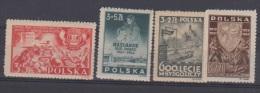 POLOGNE  //  LOT DE TIMBRES   NEUFS TRACE DE CHARNIERE  //  COTE 26 € - Unused Stamps