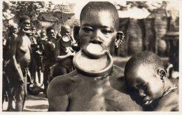 Afrique, Chez Les Negresses A Plateaux, N° 1 - Cartes Postales