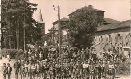 CP - GOS (Tarn) - La Colonie - Le Château - L´Eglise - - Autres Communes