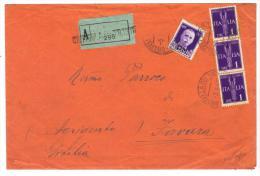 500/18 - R.S.I. , Da Civitella Del Tronto Del 5/3/1945 Per La Sicilia - 4. 1944-45 Repubblica Sociale