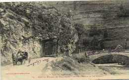 Pont Et Tunnel De Kercabanac Route D'Aulus Et De Massat Attelage    Recto Verso - Otros Municipios