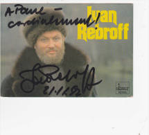 Ivan Rebroff - Autographe .... - Chanteurs & Musiciens