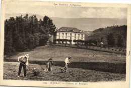 MASSAT  Chateau De Poncarré  Fenaison Recto Verso - Otros Municipios