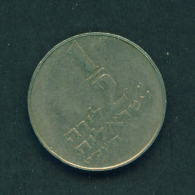 ISRAEL - Unknown Date  1/2s  Circulated - Israel