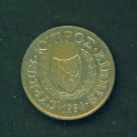 CYPRUS - 1994  5m  Circulated - Cyprus