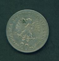 POLAND - 1974  20z  Circulated - Poland