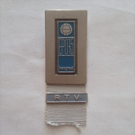 Badge Pin ZN000247 - Volleyball Yugoslavia Beograd (Belgrade) European Championship 1975 RTV - Volleybal