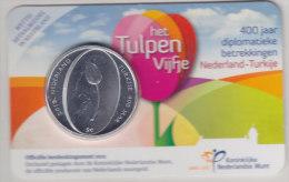 @Y@   Vijf Euro Coincard  Tulpen  (400 Jr Nl / Turkije)   2012     UNC - Nederland