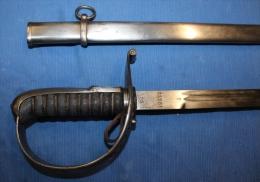 Superbe Sabre D'officier Suisse Avec Son Fourreau, Modèle1899 Type II, Longueur 96 Cm - Knives/Swords
