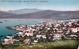 LIBANON - BEYROUT - General View of Libanon - 1910?, Gebrauchsspuren