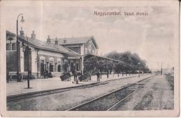 TRNAVA , Nagyszombat ,  Stanica , Bahnhof - Slovaquie