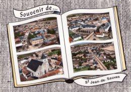 CPM:  ST. JEAN-de-SAUVES (Dpt.86):  4 Vues Divers .      (N128) - France