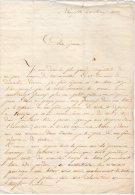 VP403 -  NEW / YORK 1856 - Lettre D'un Mari à Sa Femme En France - Manuscrits